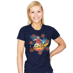 Crystal Ball - Womens - T-Shirts - RIPT Apparel