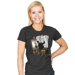 Self-portrait of Hacker - Womens - T-Shirts - RIPT Apparel
