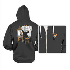 Self-portrait of Hacker - Hoodies - Hoodies - RIPT Apparel