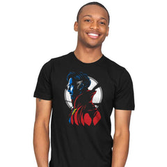 Strange Portrait - Mens - T-Shirts - RIPT Apparel