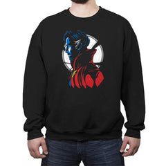Strange Portrait - Crew Neck Sweatshirt - Crew Neck Sweatshirt - RIPT Apparel