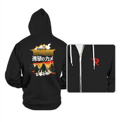Attack on Turtle - Hoodies - Hoodies - RIPT Apparel