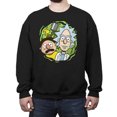 Brick and Mernie - Crew Neck Sweatshirt - Crew Neck Sweatshirt - RIPT Apparel