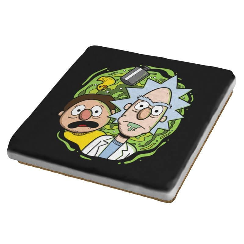 Brick and Mernie - Coasters - Coasters - RIPT Apparel