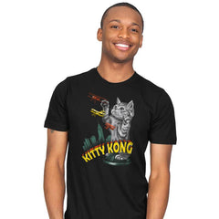 Kitty Kong - Mens - T-Shirts - RIPT Apparel