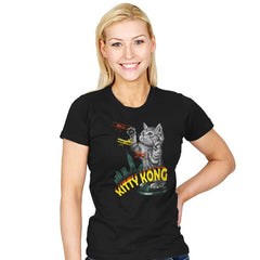 Kitty Kong - Womens - T-Shirts - RIPT Apparel