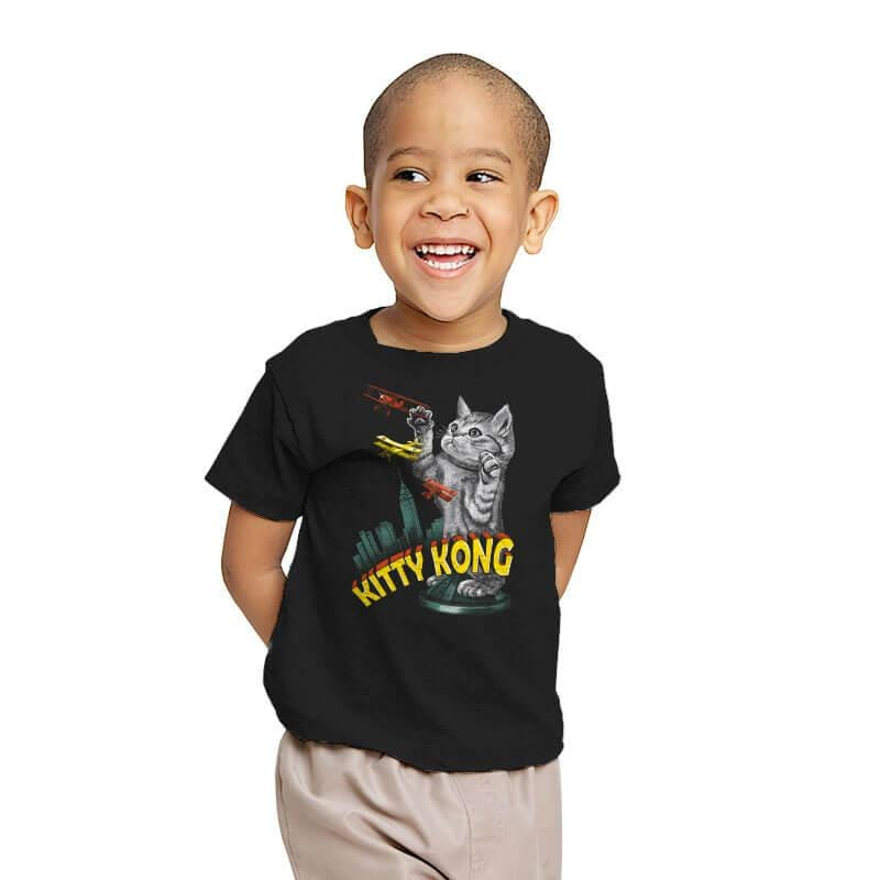 Kitty Kong - Youth - T-Shirts - RIPT Apparel