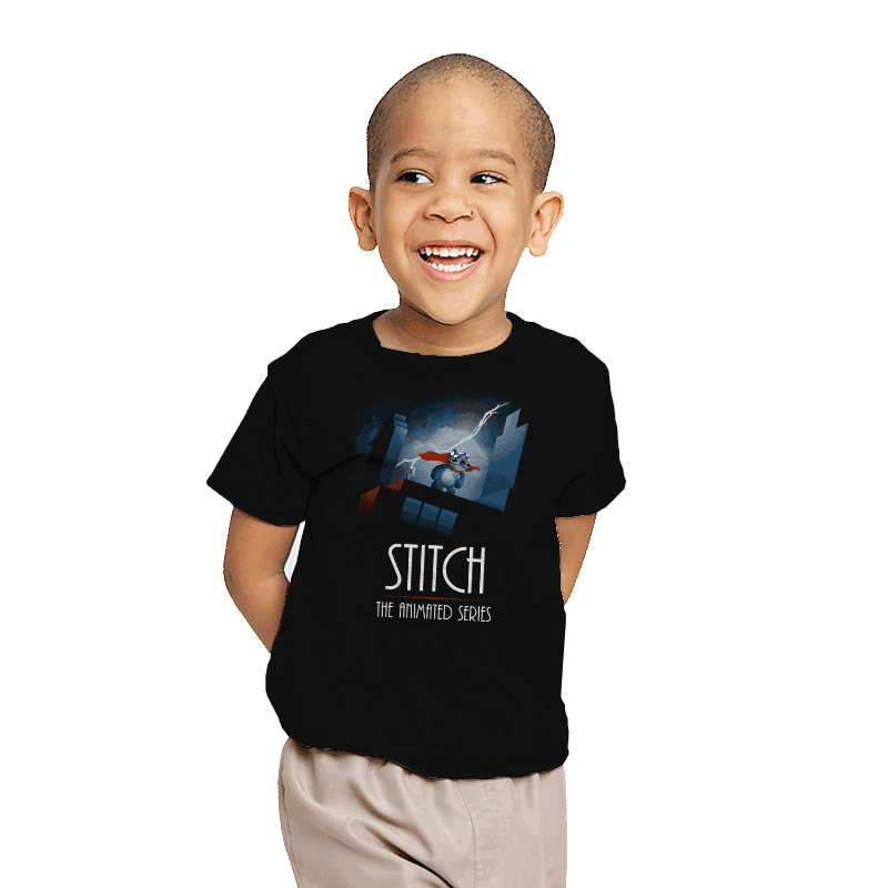 Stitch - The Animated Series Exclusive - Youth - T-Shirts - RIPT Apparel