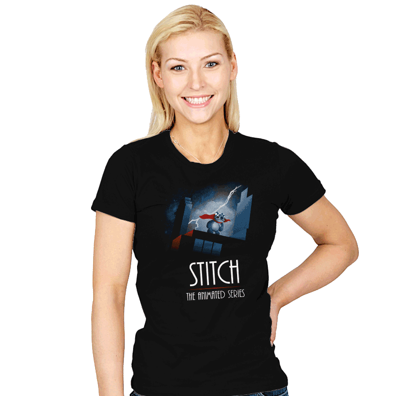 Stitch - The Animated Series Exclusive - Womens - T-Shirts - RIPT Apparel