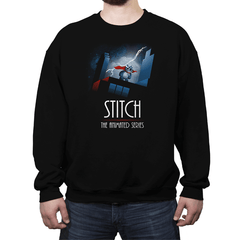Stitch - The Animated Series Exclusive - Crew Neck Sweatshirt - Crew Neck Sweatshirt - RIPT Apparel