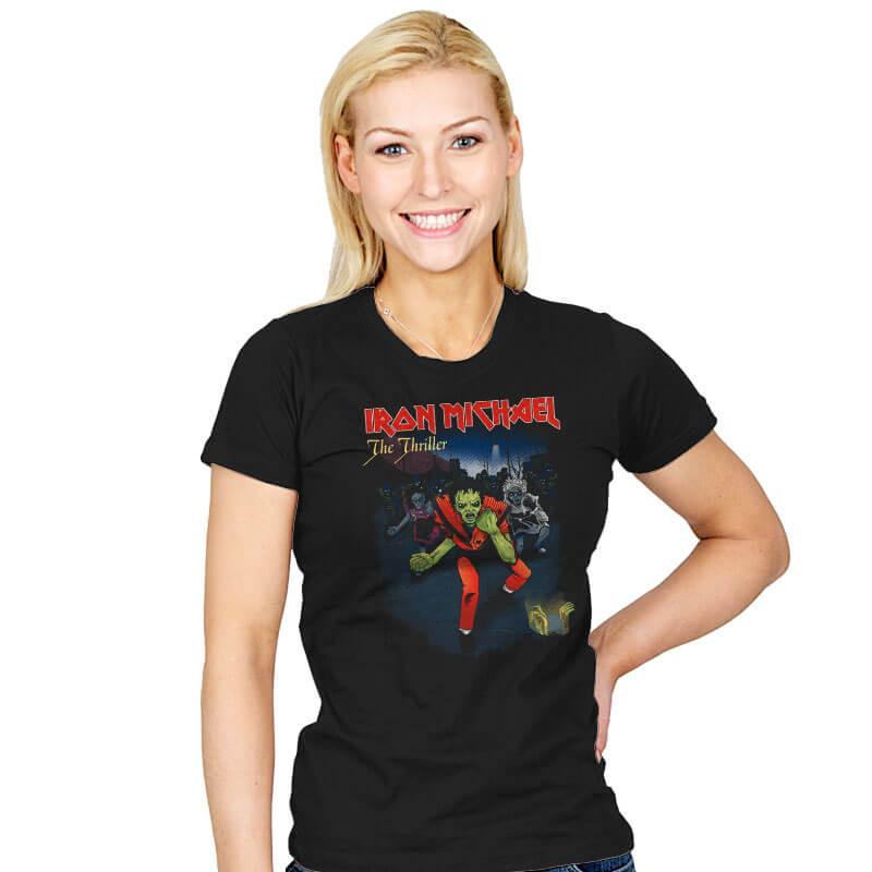 Iron Michael: The Thriller - Womens - T-Shirts - RIPT Apparel