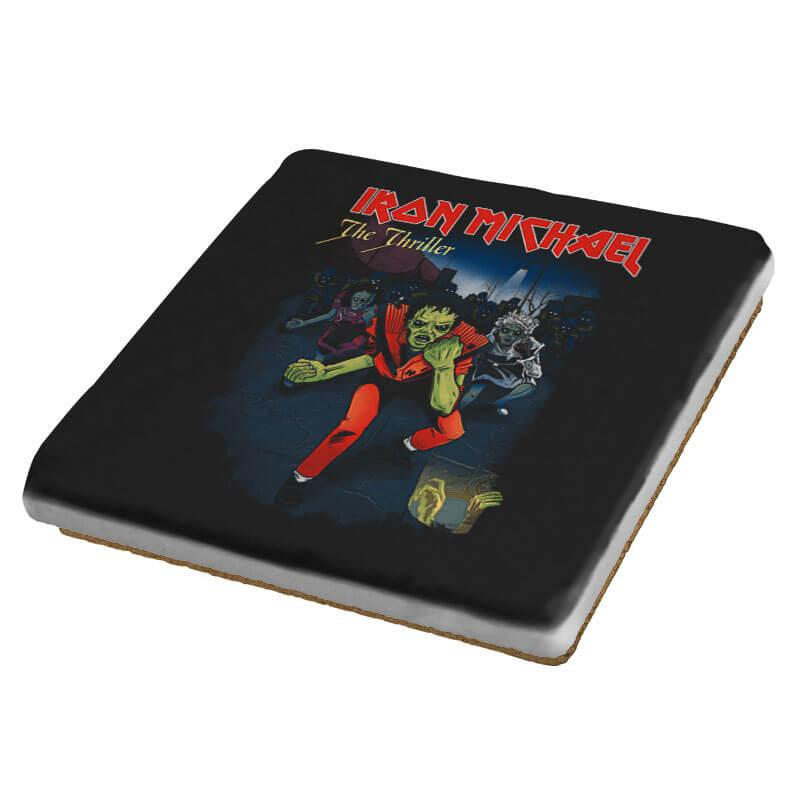 Iron Michael: The Thriller - Coasters - Coasters - RIPT Apparel