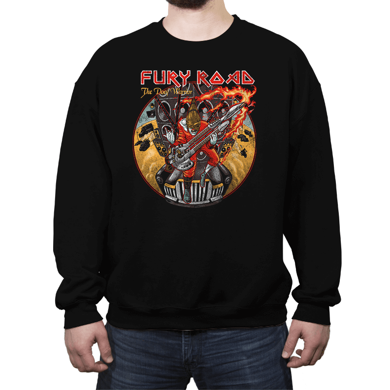 Fury Maiden: The Doofer Exclusive - Crew Neck Sweatshirt - Crew Neck Sweatshirt - RIPT Apparel