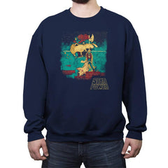 Star Power Exclusive - Crew Neck Sweatshirt - Crew Neck Sweatshirt - RIPT Apparel