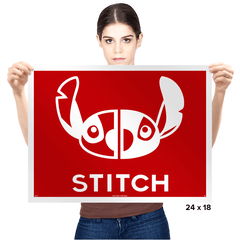 Stitch - Prints - Posters - RIPT Apparel