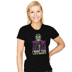 He Wants You - Womens - T-Shirts - RIPT Apparel