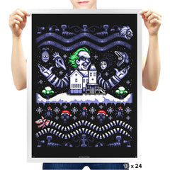 Beetleguise COD Holiday Sweater - Prints - Posters - RIPT Apparel