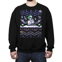 Beetleguise COD Holiday Sweater - Crew Neck Sweatshirt - Crew Neck Sweatshirt - RIPT Apparel