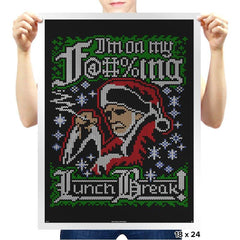 Horrible Santa COD Holiday Sweater - Prints - Posters - RIPT Apparel