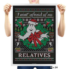 Jinglebusters COD Holiday Sweater - Prints - Posters - RIPT Apparel