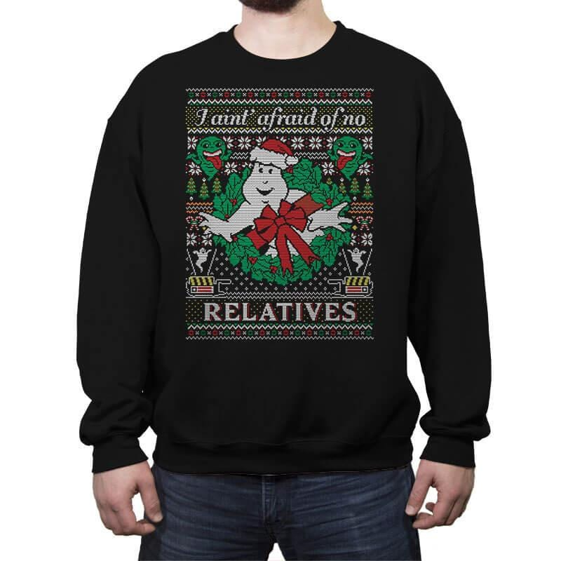 Jinglebusters COD Holiday Sweater - Crew Neck Sweatshirt - Crew Neck Sweatshirt - RIPT Apparel