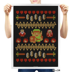 Legend of Xmas COD Holiday Sweater - Prints - Posters - RIPT Apparel