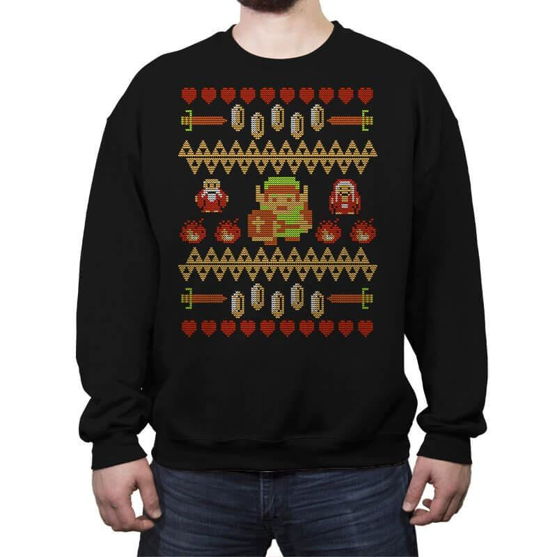 Legend of Xmas COD Holiday Sweater - Crew Neck Sweatshirt - Crew Neck Sweatshirt - RIPT Apparel