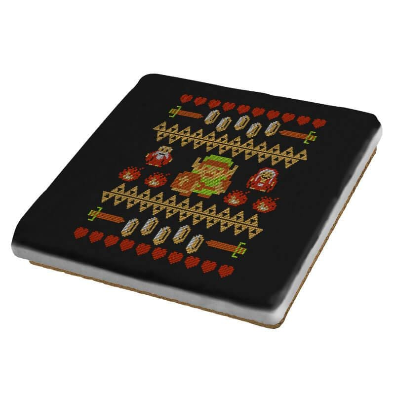 Legend of Xmas COD Holiday Sweater - Coasters - Coasters - RIPT Apparel