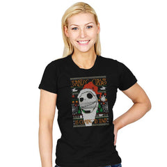 Sandy Claws COD Holiday Sweater - Womens - T-Shirts - RIPT Apparel