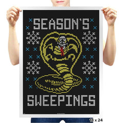 Seasons Sweepings COD Holiday Sweater - Prints - Posters - RIPT Apparel