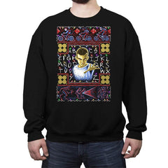 Stranger Holiday COD Holiday Sweater - Crew Neck Sweatshirt - Crew Neck Sweatshirt - RIPT Apparel