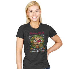 Tis Over 9000 COD Holiday Sweater - Womens - T-Shirts - RIPT Apparel