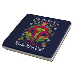 Turbo Man COD Holiday Sweater - Coasters - Coasters - RIPT Apparel