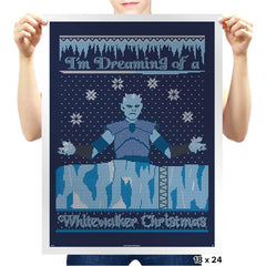 White Walker Xmas COD Holiday Sweater - Prints - Posters - RIPT Apparel