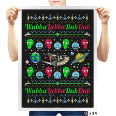 Wubba Lubba COD Holiday Sweater - Prints - Posters - RIPT Apparel