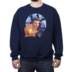 Stranger Doctor - Crew Neck Sweatshirt - Crew Neck Sweatshirt - RIPT Apparel