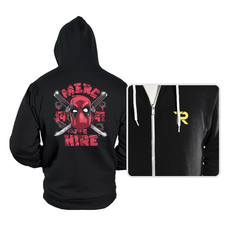 Merc for Hire - Hoodies - Hoodies - RIPT Apparel