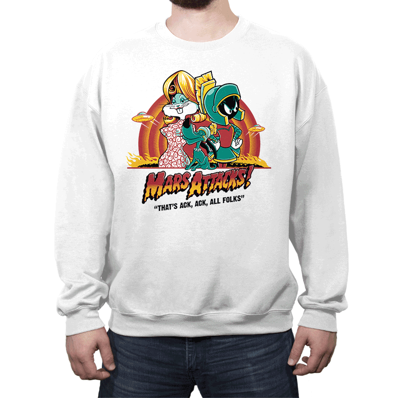 Mars Attacks! - Crew Neck - Crew Neck - RIPT Apparel