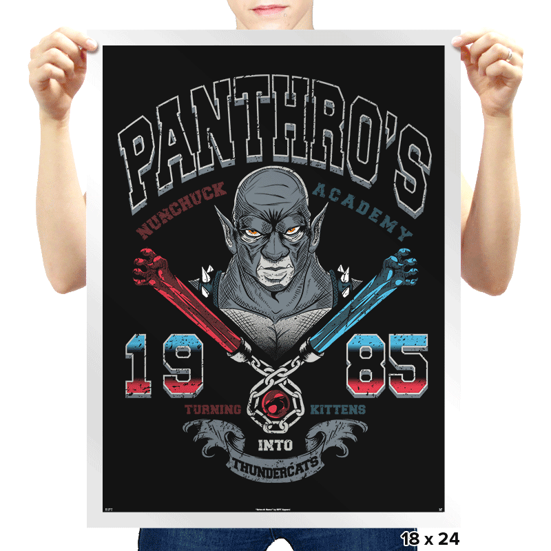 Nunchuck Academy - Prints - Posters - RIPT Apparel