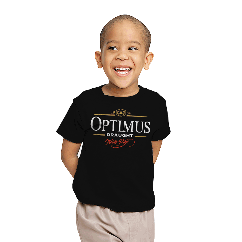 Optimus Draught - Youth - T-Shirts - RIPT Apparel