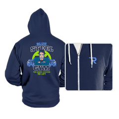 Blue Steel Gym - Hoodies - Hoodies - RIPT Apparel