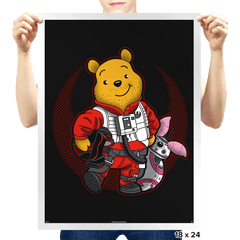 Pooh Dameron - Prints - Posters - RIPT Apparel