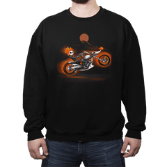 Nightmare Rider - Crew Neck - Crew Neck - RIPT Apparel