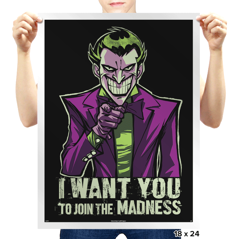 He Wants You - Prints - Posters - RIPT Apparel