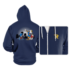 Batmin v Superhob - Hoodies - Hoodies - RIPT Apparel