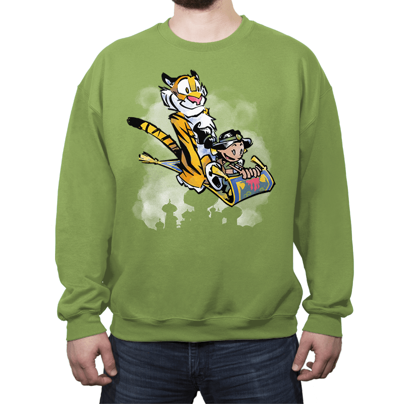 Jasmine and Rajah - Crew Neck - Crew Neck - RIPT Apparel