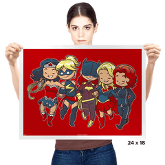 Super BFFs - Prints - Posters - RIPT Apparel