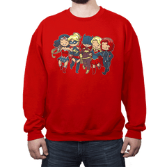 Super BFFs - Crew Neck - Crew Neck - RIPT Apparel