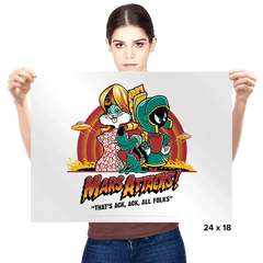 Mars Attacks! - Prints - Posters - RIPT Apparel