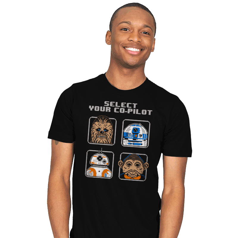 Select Your Co-Pilot - Mens - T-Shirts - RIPT Apparel